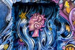 Pintura mural em Hackersche Höfe Fotos de Stock