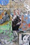 Pintura mural em Hackersche Höfe Imagens de Stock