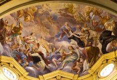 Pintura mural, Florença fotos de stock