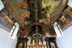 Pintura mural ortodoxa Imagen de archivo libre de regalías