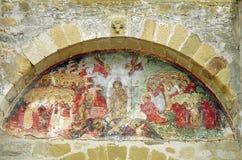 Pintura mural velha Foto de Stock