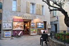 Pintura na frente da loja Foto de Stock Royalty Free