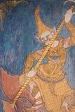 Pintura na madeira da associação do museu Fotos de Stock