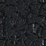 Pintura negra subrayada Fotos de archivo