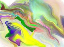 Pintura original de la acuarela del arte del fondo abstracto Fotografía de archivo libre de regalías