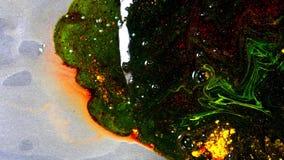 Pintura oscura mezclada gruesa Primer de la superficie de la pintura gruesa y del agua de relleno del desplazamiento que asoman P almacen de metraje de vídeo
