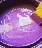 Pintura púrpura Fotos de archivo libres de regalías
