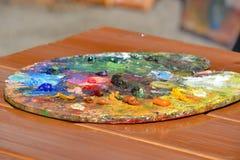A pintura para a aquarela de tiragem art?stica ? a melhor pintura imagem de stock royalty free