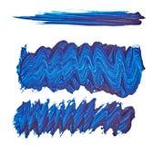Pintura para dibujar punto smear Aislado en el fondo blanco Para su diseño brillante fotos de archivo