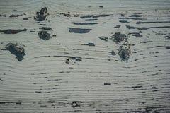 Pintura pelada sobre las tarjetas de madera Fotos de archivo