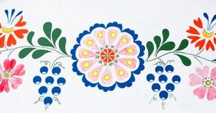 Pintura popular tradicional de la bodega Foto de archivo libre de regalías