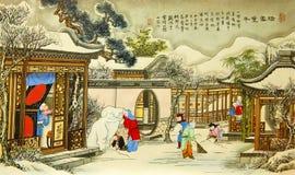 Pintura propicia Imagen de archivo libre de regalías