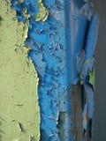 Pintura que forma escamas Foto de archivo libre de regalías