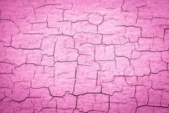 Pintura rachada cor-de-rosa ilustração royalty free
