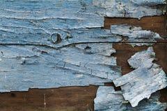 Pintura rachada e da casca Foto de Stock