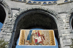 Pintura religiosa Imagem de Stock Royalty Free