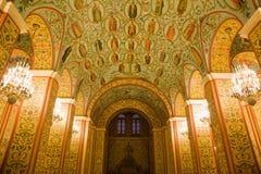 Pintura religiosa en las paredes y techo en museo Fotos de archivo