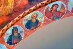 Pintura religiosa velha Imagem de Stock Royalty Free