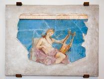 Pintura romana antiga fotos de stock