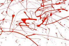 Pintura salpicada imagen de archivo libre de regalías