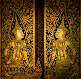 Pintura tailandesa imagen de archivo