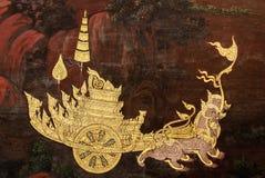 Pintura tailandesa da arte Foto de Stock