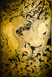 Pintura tailandesa da arte do estilo Foto de Stock