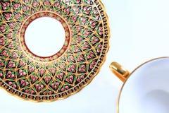 Pintura tailandesa de la porcelana Imagenes de archivo