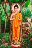 Pintura tailandesa de señor buddha Imagenes de archivo