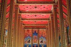 Pintura tailandesa tradicional del arte del estilo Imagenes de archivo