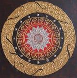 Pintura tailandesa tradicional del estilo Fotografía de archivo