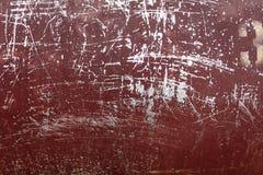 Pintura texturizada del color en fondo del metal Imágenes de archivo libres de regalías