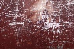 Pintura texturizada del color en fondo del metal Fotografía de archivo