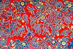 Pintura tradicional chinesa tailandesa Imagens de Stock