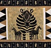 Pintura tribal Imagen de archivo