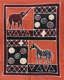 Pintura tribal Imagen de archivo libre de regalías