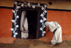 Pintura tribal em India Imagem de Stock Royalty Free