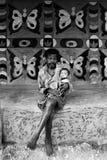 Pintura tribal en la India Imágenes de archivo libres de regalías