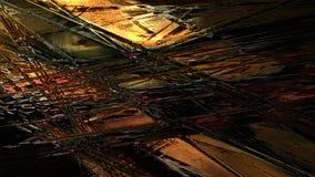 Pintura urbana da estrutura reflexiva abstrata do metal do teste padrão da textura do teste padrão Foto de Stock