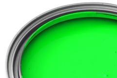 Pintura verde Foto de archivo libre de regalías