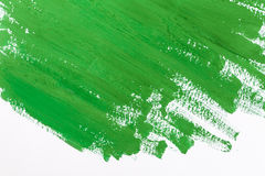 Pintura verde foto de stock royalty free