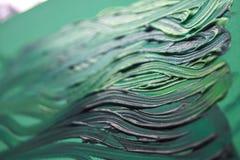 Pintura verde Imagem de Stock