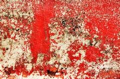 Pintura vermelha imagens de stock