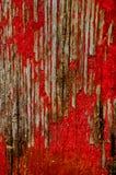Pintura vermelha gasta fotos de stock royalty free