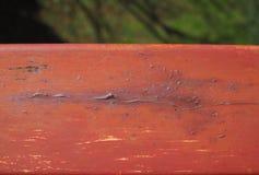 Pintura vermelha velha Fotografia de Stock