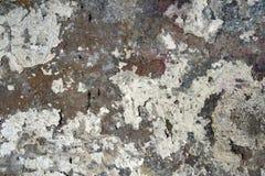 Pintura vieja en textura concreta Foto de archivo
