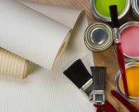 Pintura y adornamiento Imágenes de archivo libres de regalías