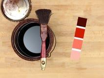 Pintura y adornamiento Fotos de archivo libres de regalías
