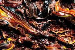Pinturas a óleo. Textura. Fotografia de Stock
