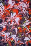 Pinturas abstractas vibrantes Fotografía de archivo
